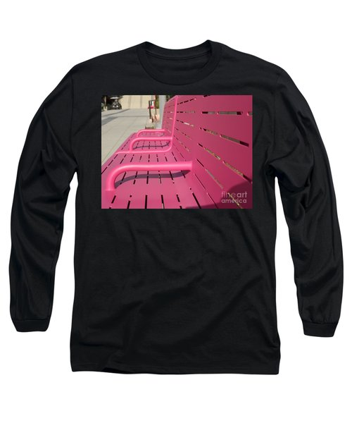 Grand Park Pink Long Sleeve T-Shirt