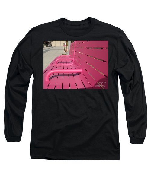 Grand Park Pink Long Sleeve T-Shirt