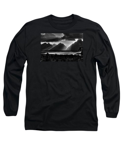 Grand Teton Light Beams Long Sleeve T-Shirt