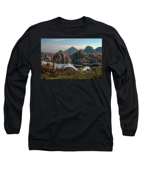 Granite Dells At Watson Lake Long Sleeve T-Shirt