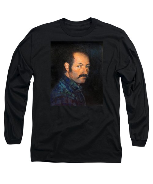 Long Sleeve T-Shirt featuring the painting Grant by Donna Tucker