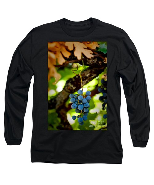 Grape Cluster Long Sleeve T-Shirt