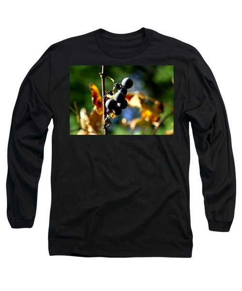 Grapes On The Vine No.2 Long Sleeve T-Shirt