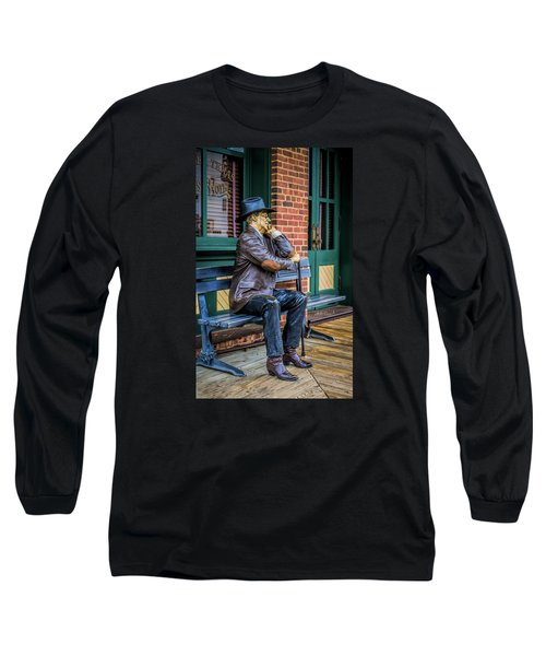 Grapevine Cowboy Long Sleeve T-Shirt