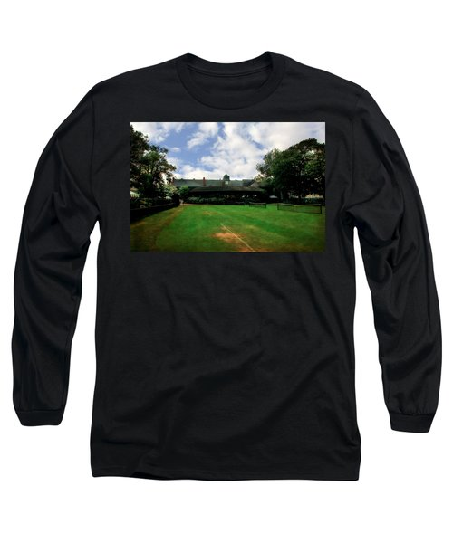 Grass Courts At The Hall Of Fame Long Sleeve T-Shirt