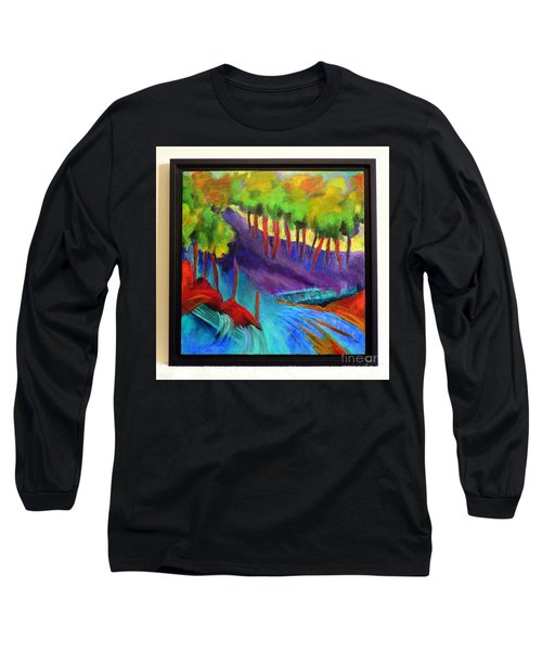 Grate Mountain Long Sleeve T-Shirt by Elizabeth Fontaine-Barr