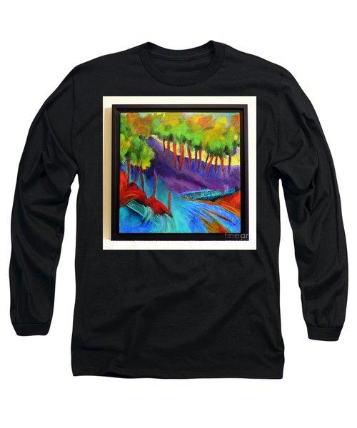 Grate Mountain Long Sleeve T-Shirt