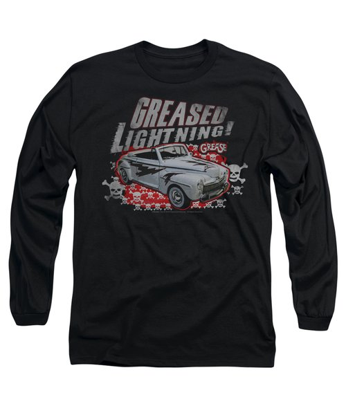 Grease - Greased Lightening Long Sleeve T-Shirt