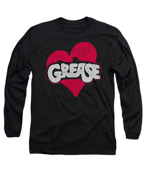 Grease - Heart Long Sleeve T-Shirt