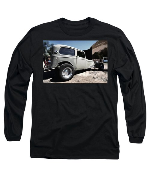 Long Sleeve T-Shirt featuring the photograph Greaserama 2011 by Liane Wright