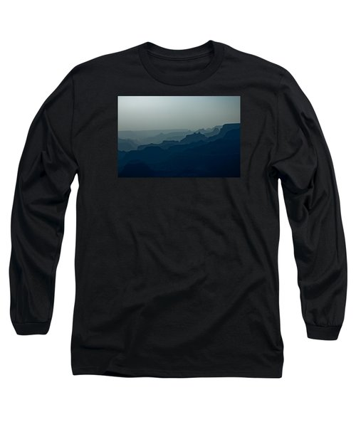 Great Crevice Long Sleeve T-Shirt by Joel Loftus