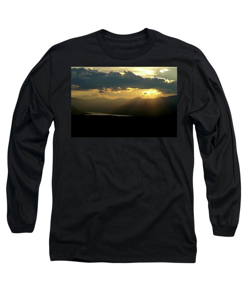 Long Sleeve T-Shirt featuring the photograph Great Divide Light by Jeremy Rhoades