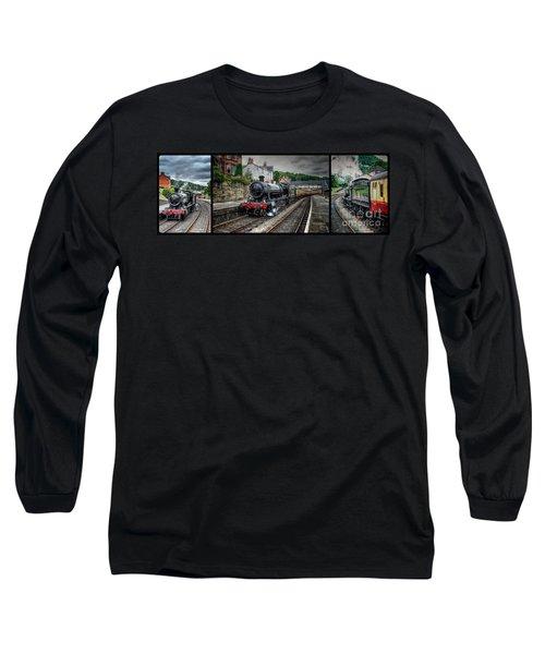 Great Western Locomotive Long Sleeve T-Shirt