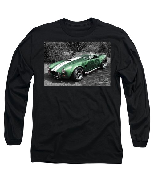 Green Cobra Long Sleeve T-Shirt
