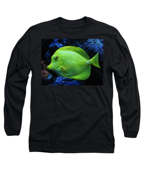 Green Fish Long Sleeve T-Shirt