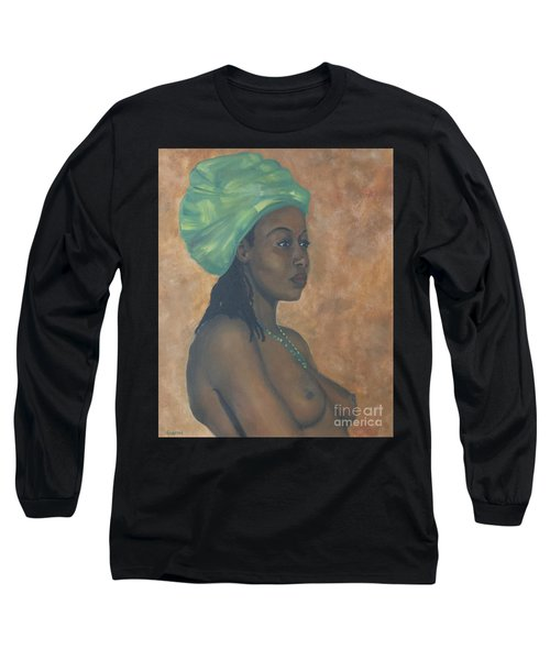 Green Headwrap Long Sleeve T-Shirt