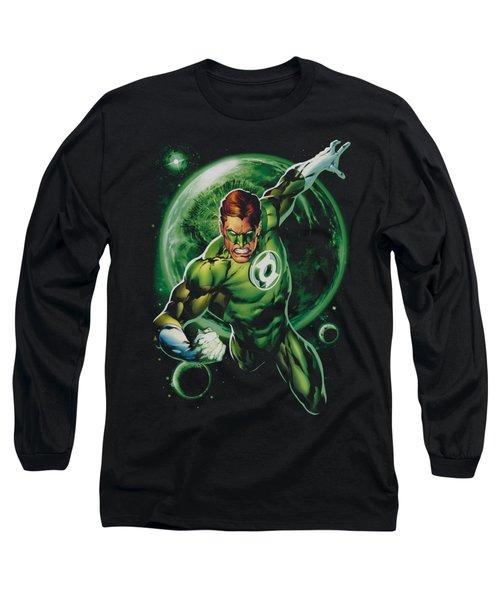 Green Lantern - Galaxy Glow Long Sleeve T-Shirt