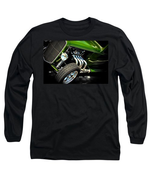 Vintage Long Sleeve T-Shirt featuring the photograph Green Machine  by Aaron Berg