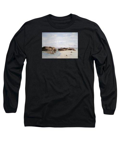 Greens Pool Western Australia Long Sleeve T-Shirt by Elvira Ingram