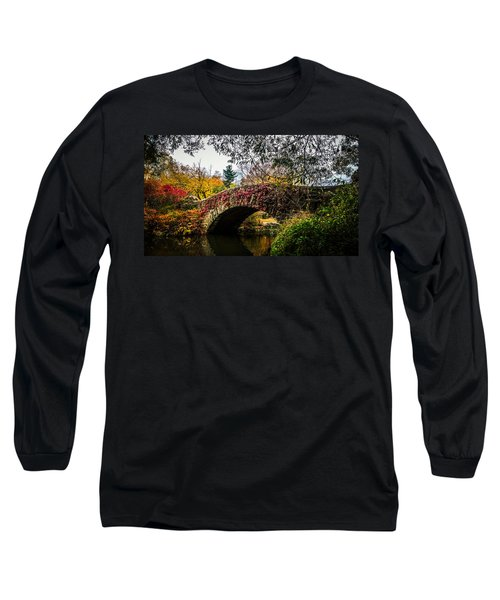 Greens Reds Yellow And Oranges Long Sleeve T-Shirt