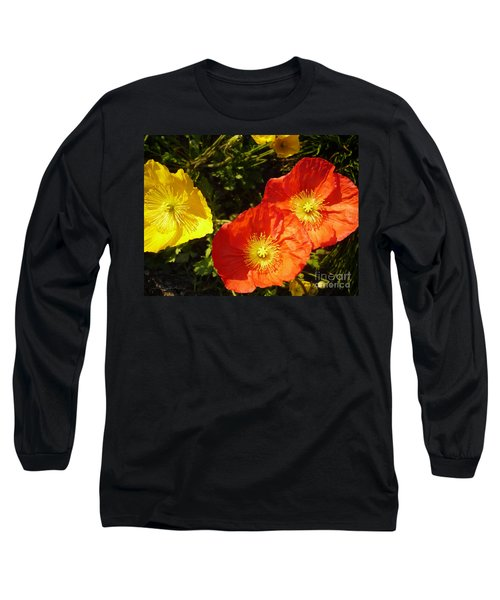 Greeting Before My Coffee Long Sleeve T-Shirt by Gem S Visionary