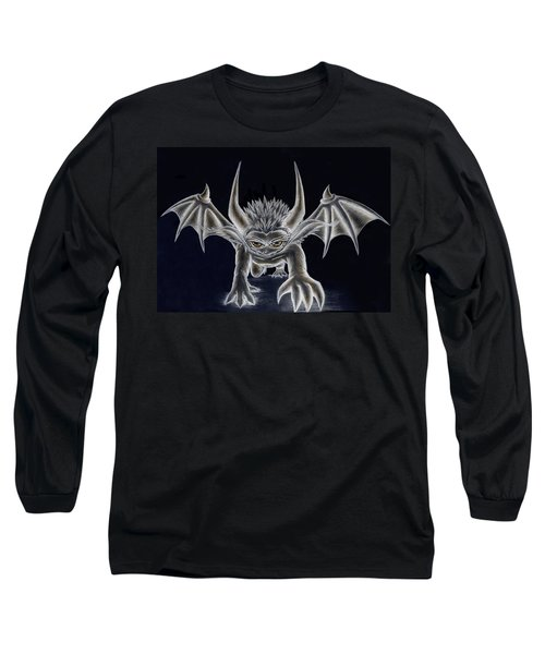 Grevil Inverted Long Sleeve T-Shirt by Shawn Dall