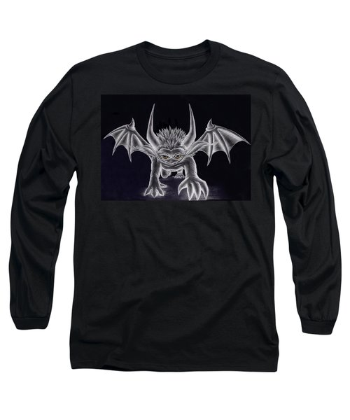 Grevil Silvered Long Sleeve T-Shirt by Shawn Dall