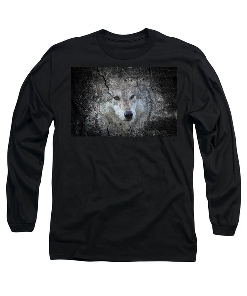 Grey Stone Long Sleeve T-Shirt