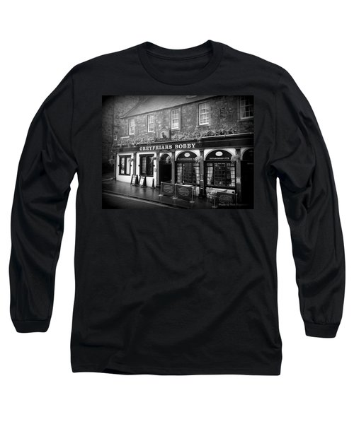 Greyfriars Bobby In Edinburgh Scotland  Long Sleeve T-Shirt