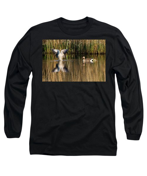Greylag Goose Family Long Sleeve T-Shirt