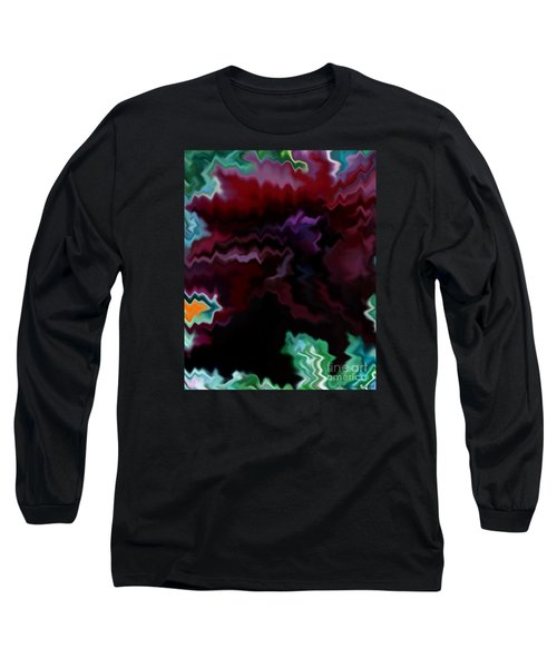 Long Sleeve T-Shirt featuring the mixed media Grief by Patricia Griffin Brett