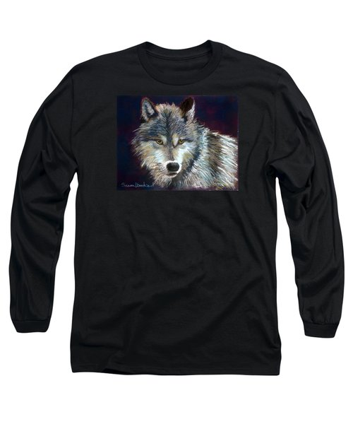Grizzer Long Sleeve T-Shirt by Susan Woodward
