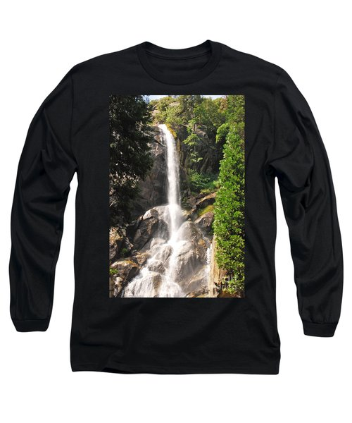 Grizzly Falls Long Sleeve T-Shirt by Mary Carol Story