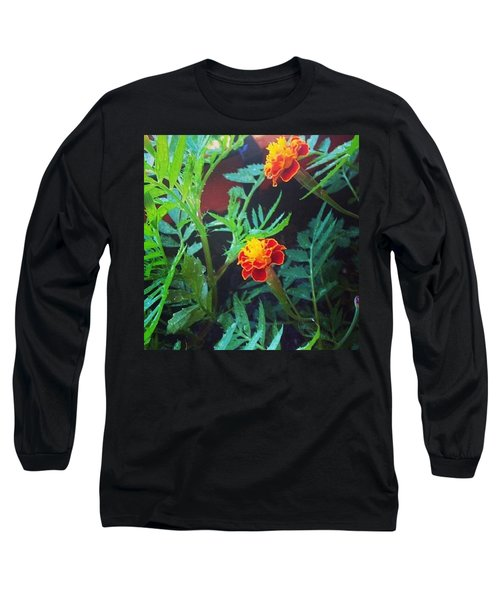 Beautiful Marigolds Long Sleeve T-Shirt
