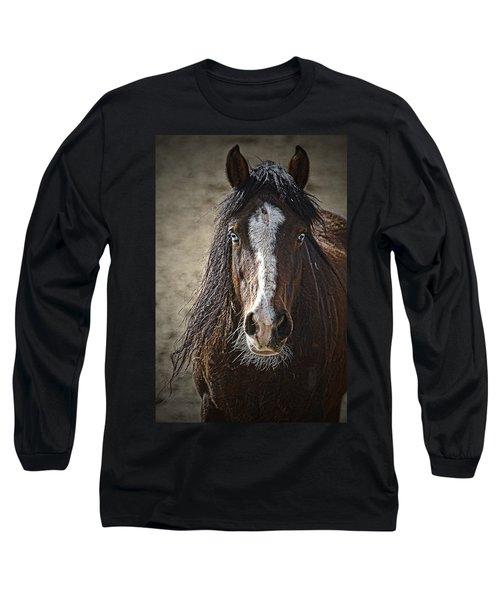 Grungy Boy Long Sleeve T-Shirt