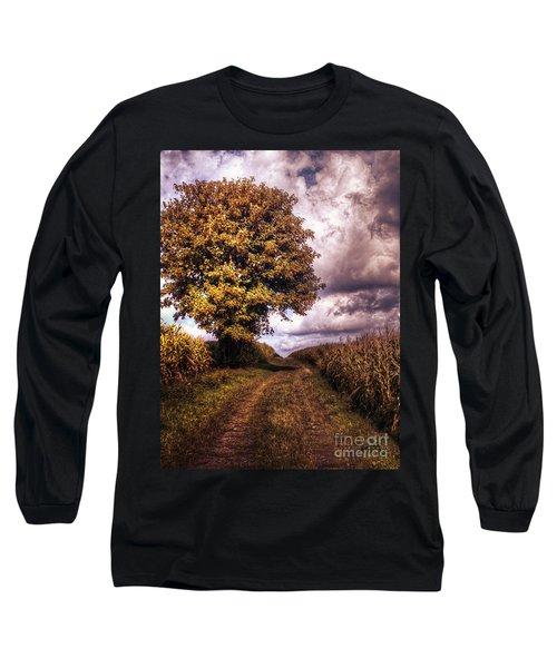 Guardian Of The Field Long Sleeve T-Shirt by Daniel Heine