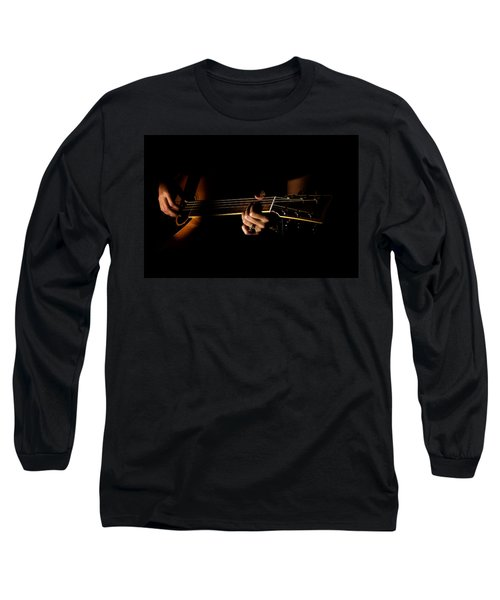 Guitar Player Long Sleeve T-Shirt
