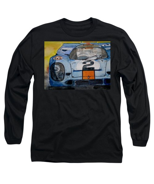 Gulf Porsche Long Sleeve T-Shirt