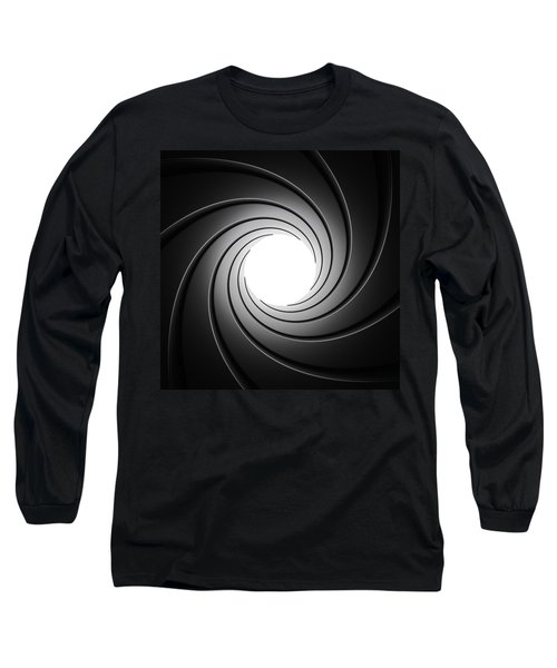 Gun Barrel From Inside Long Sleeve T-Shirt