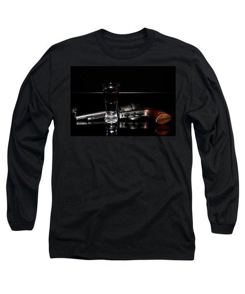Gun With Smoke Long Sleeve T-Shirt