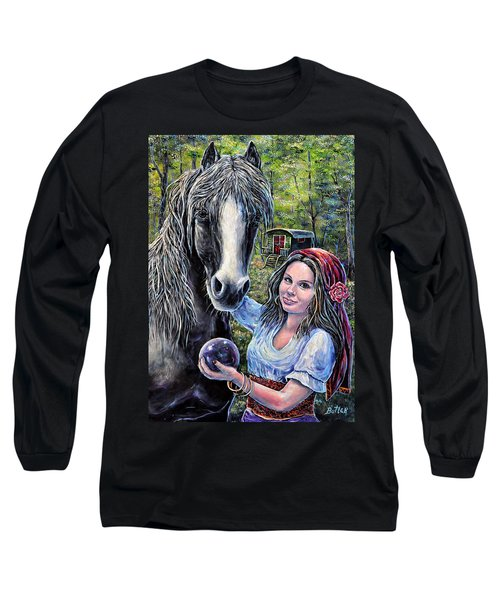 Gypsies Long Sleeve T-Shirt by Gail Butler