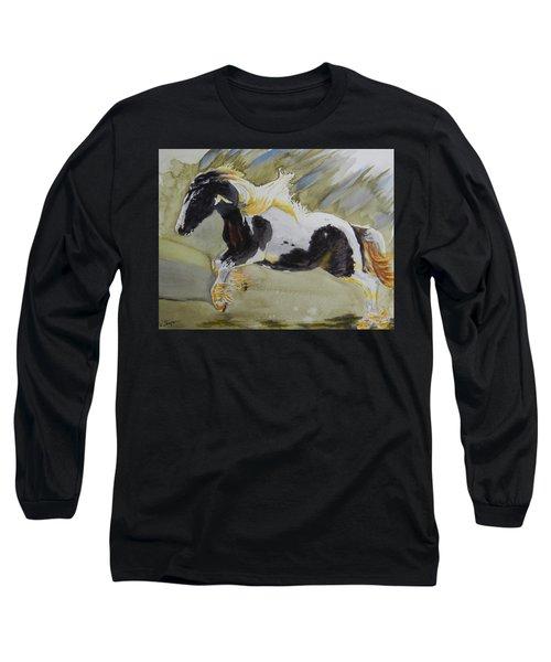 Gypsy Princess Long Sleeve T-Shirt by Warren Thompson