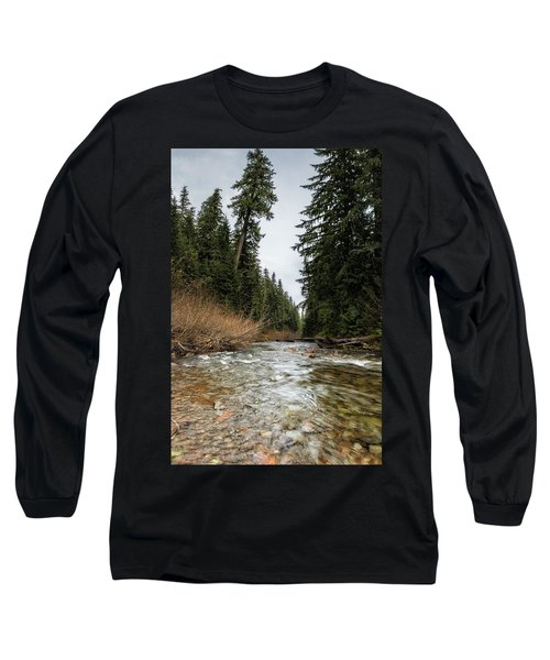 Hackleman Creek  Long Sleeve T-Shirt by Belinda Greb