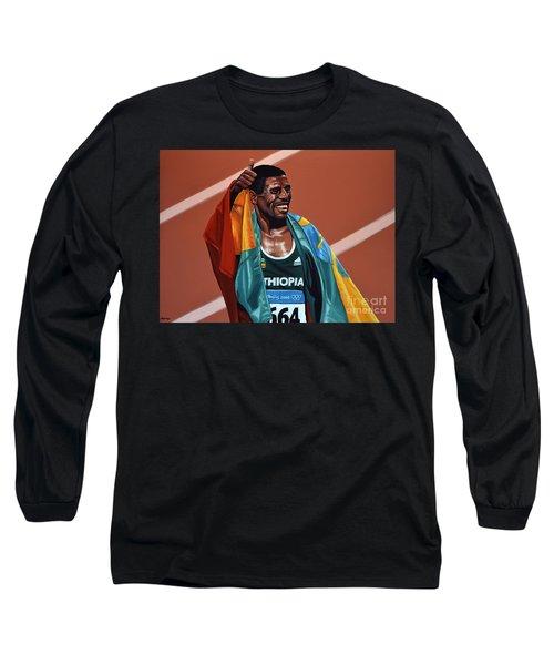 Haile Gebrselassie Long Sleeve T-Shirt