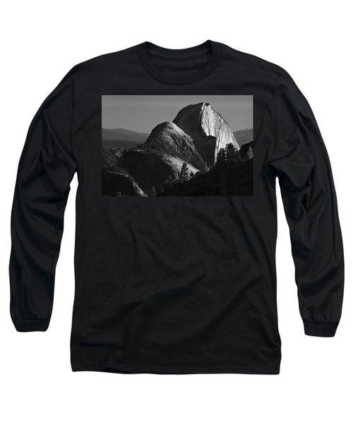 Half Dome At Sunset Long Sleeve T-Shirt