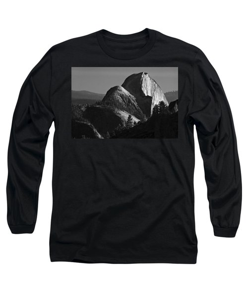Half Dome At Sunset Long Sleeve T-Shirt