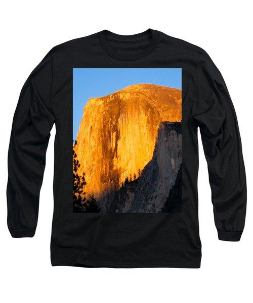Half Dome Yosemite At Sunset Long Sleeve T-Shirt