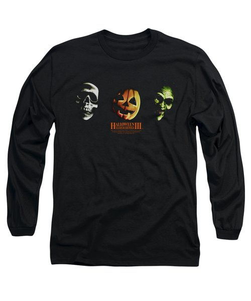 Halloween IIi - Three Masks Long Sleeve T-Shirt