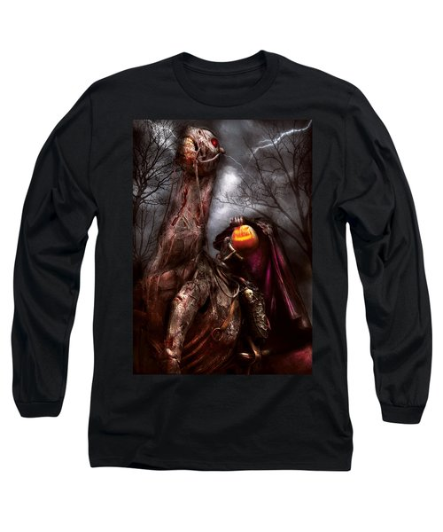 Halloween - The Headless Horseman Long Sleeve T-Shirt