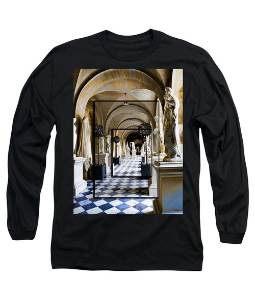 Halls Of Versailles Paris Long Sleeve T-Shirt